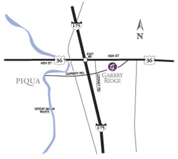 garbry-ridge-map, maps & directions, HCF Inc